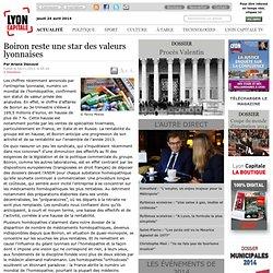 Boiron reste une star des valeurs lyonnaises / Economie / Actualité / France monde