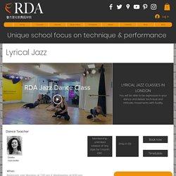 Lyrical Jazz Classes London - Best jazz classes london