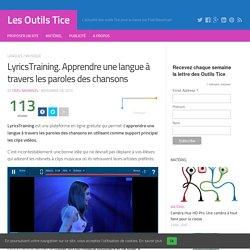 LyricsTraining. Apprendre une langue à travers les paroles des chansons – Les Outils Tice