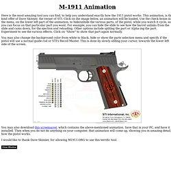 M-1911 - Interactive Animation