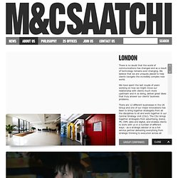 M&C Saatchi – London