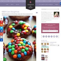 M&M Cake Doughnuts