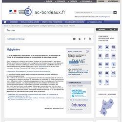 M@gistère - ac-bordeaux.fr