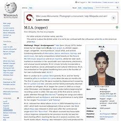 M.I.A. (rapper)