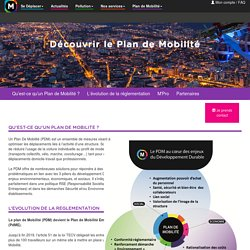 M - Plan de Mobilité