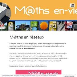 M@ths en réseaux – M@ths en-vie