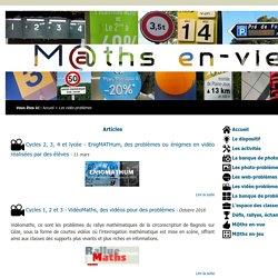 M@ths en-vie - Les vidéo-problèmes