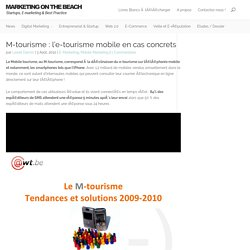 M-tourisme : l'e-tourisme mobile en cas concrets