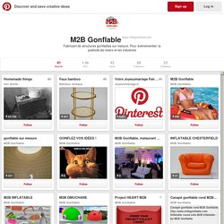 M2B Gonflable on Pinterest