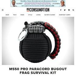 M550 Pro Paracord Bugout Frag Survival Kit
