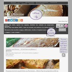 Marie Pop - Blog Ma Cuisine