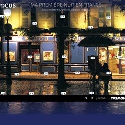 Ma première nuit en France