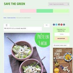 Ma recette de la salade waldorf