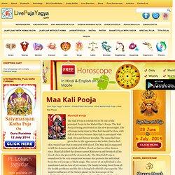 Maa Kali Pooja