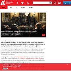at5: Hardwerkende Maagdenhuisbezetters willen compensatie studiepunten