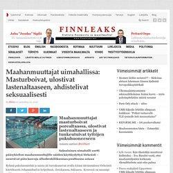 Maahanmuuttajat uimahallissa: Masturboivat, ulostivat lastenaltaaseen, ahdistelivat seksuaalisesti
