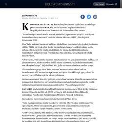 Näin maahanmuuttajat keskustelevat somessa Suomesta ja suomalaisista - Sunnuntai
