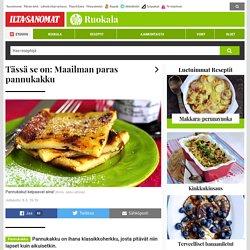 Tässä se on: Maailman paras pannukakku - Ruokala - Ilta-Sanomat