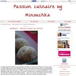 Maâmouls : gâteaux fourés aux dattes