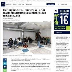 Helsingin seutu, Tampere ja Turku useimmiten turvapaikanhakijoiden määränpäänä - Euroopan pakolaiskriisi