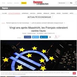 Vingt ans après Maastricht, les Français voteraient contre l'euro