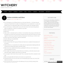 Mabon Activities and Ideas « witchery