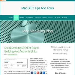 SEO Blog for Mac Webmasters and Marketers