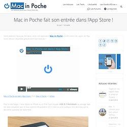 Mac in Poche fait son entrée dans l'App Store
