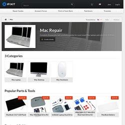 Réparation Mac - iFixit