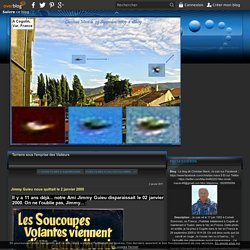 Jimmy Guieu nous quittait le 2 janvier 2000 - Le blog de Christian Macé. Je suis sur Facebook :  Et sur Twitter :  Mon email : macec48@gmail.com Mon téléphone : 0629550094
