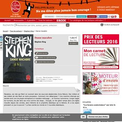 Danse macabre - Stephen King - Collection : Fantastique