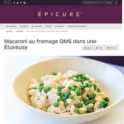 Macaroni au fromage QMS dans une Étuveuse