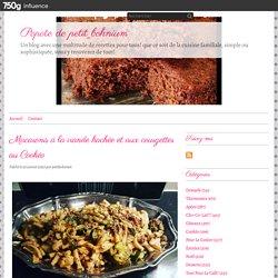 Macaronis à la viande hachée et aux courgettes au Cookéo
