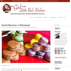 French Macarons + A #Giveaway!