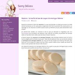 Macarons : la recette de base des coques à la meringue italienne