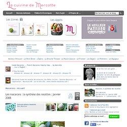 » Les macarons : la synthèse des recettes : janvier 2008