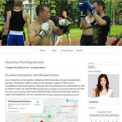 Macarthur Plumbing Services - The News Post