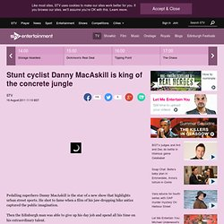Danny MacAskill's famous stunt cycle video | STV Video