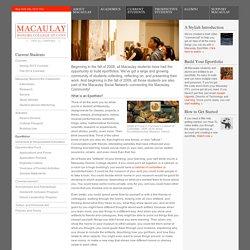 Macaulay honors college essay