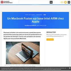 Un Macbook Fusion sur base Intel-ARM chez Apple