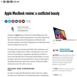 Apple MacBook review: a conflicted beauty