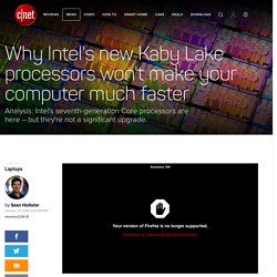Here's why MacBook and Surface aren't using the newest Intel chips - CNET