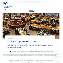 La cultura digitale nelle scuole
