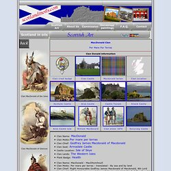 Clan MacDonald, their Castle and information.