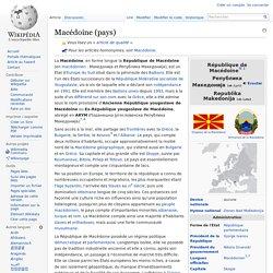 Macédoine (pays)