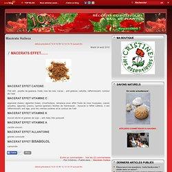 Macérats Huileux - Beurre végétal