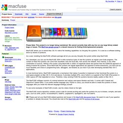 macfuse - Google Code