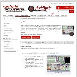 Mach3 - Newfangled Solutions