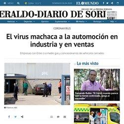 El virus machaca a la automoción en industria y en ventas