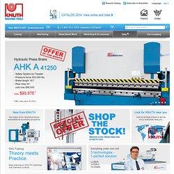 Willkommen bei Knuth Werkzeugmaschinen GmbH